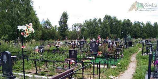 Кладбище возле деревни Пятино