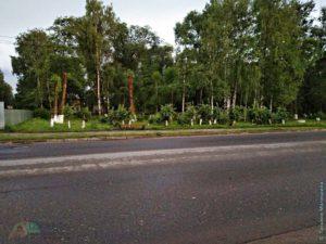Пионерский Сквер, город Сокол
