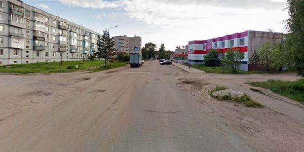 Улица Изюмова в микрорайоне Солдек