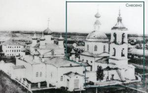 Храмовый ансамбль из двух церквей, Кадников