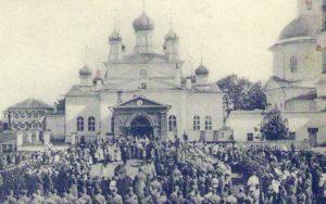 Придельный храм во имя Феодосия Тотемского освящён 2 сентября 1879 г
