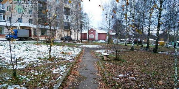 Сквер, в честь ликвидаторов аварии на Чернобыльской АЭС