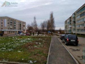 Сквер, в честь сокольчан-ликвидаторов аварии на Чернобыльской АЭС