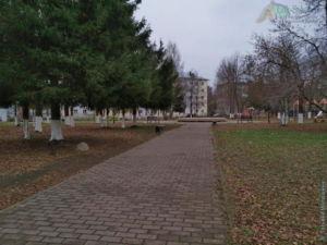 Парк имени О. Ф. Лощилова (Сокол, ноябрь 2020 г.)