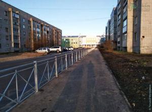 Город Сокол: вид на Новую Школу № 9