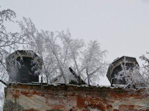 Оларевская Николаевская церковь. Погост Оларево, Сокольский район