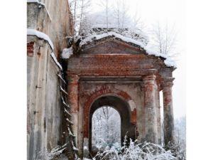 Оларевская Николаевская церковь. Погост Оларево