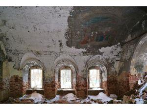 Николаевская церковь. Погост Оларево, Сокольский район