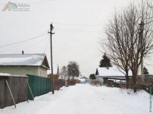 деревня Есипово, зима 2021