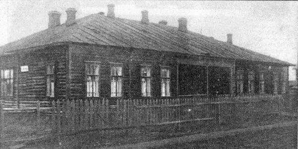 Эвакогоспиталь № 3346 в Соколе
