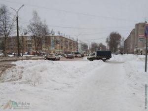 Улочки зимнего Сокола, (центр города, январь 2021)