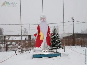 Новогодние арт-объекты в Соколе, январь 2021
