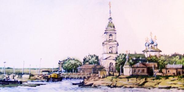 Приходская Воскресенская Боровецкая церковь