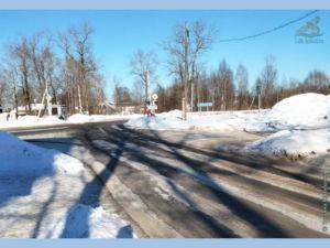 Перекресток улиц Железнодорожная и Советский пр-т