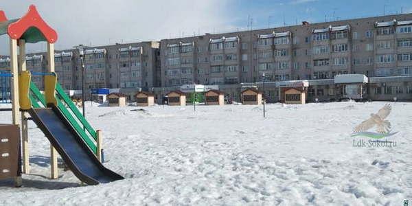 Детская площадка на новой городской набережной
