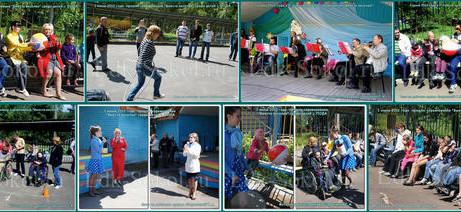 Соревнования «Вместе веселее» среди детей